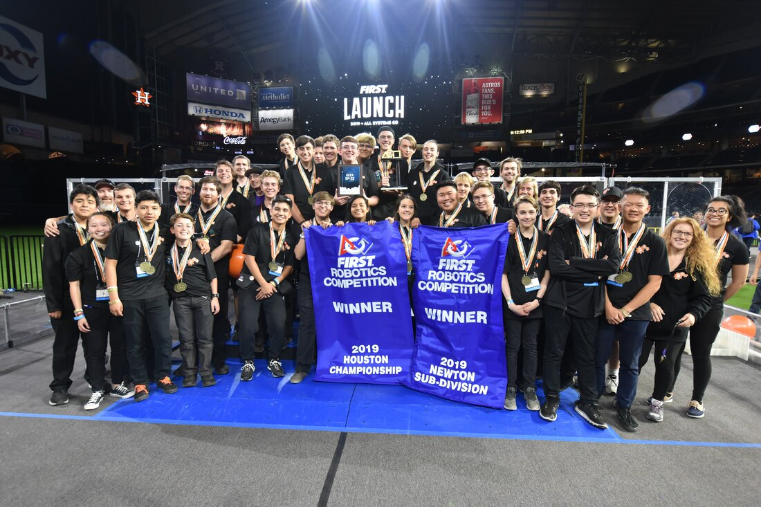b3b89c3ee With our partners Team 1323 - Madtown Robotics, Team 5026 - Iron Panthers,  and Team 4201 - The Vitruvian Bots, we were victorious at the 2019 Houston  ...
