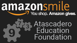 Atascadero Education Foundation, Amazon Smile, Team 973